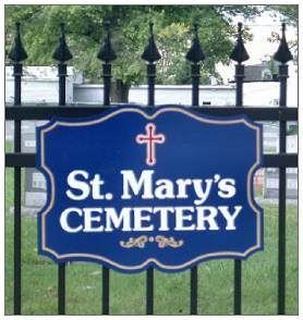 St. Mary's Cemetery - Annapolis, Maryland