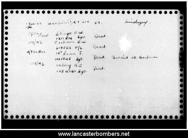 Loss Card - AT217 - EA-S - Slingo - via www.lancasterbombers.net