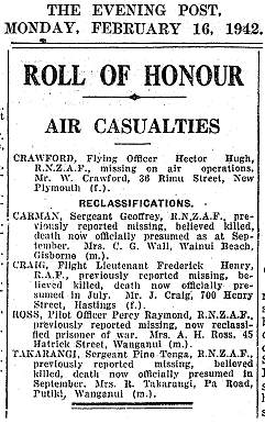 The Evening Post, Auckland - 16 Feb 1942