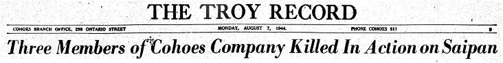 The Troy Record - header