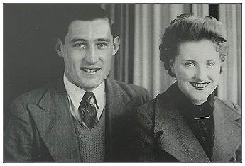 Tom with his wife Alma