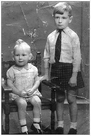 Kids - Tom and Hugh Briggs - 1942