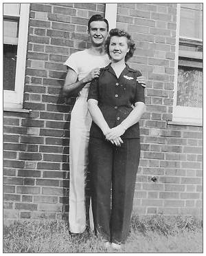 James Carl Owens with his youngest sister Vera