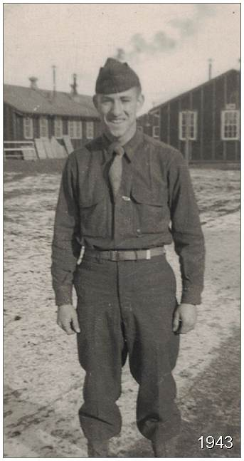 T/Sgt. Vernon Pierce Brubaker Jr. - Radio School, Sioux Falls, SD - Spring 1943