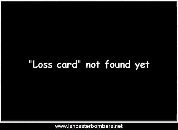 Loss Card - PD421 - ..-. - Moresby - via www.lancasterbombers.net