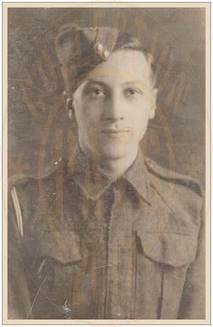 1806994 - Sapper - Sidney 'Sid' Albert Wood - Royal Engineers 164 Rly. Operating Coy - Age 23