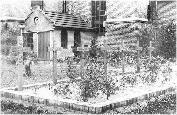 USA - War graves 'Dutch Reformed' Churchyard - Staphorst