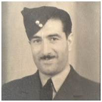 641185 - Sgt. - Flight Engineer - Victor Arthur Martin - RAF - POW - in Camps L3/L6/L4, POW No. 338