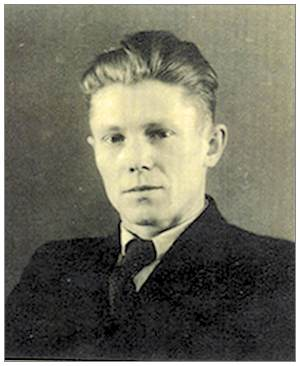 Sergeant Vaclav Valeš - civil photo