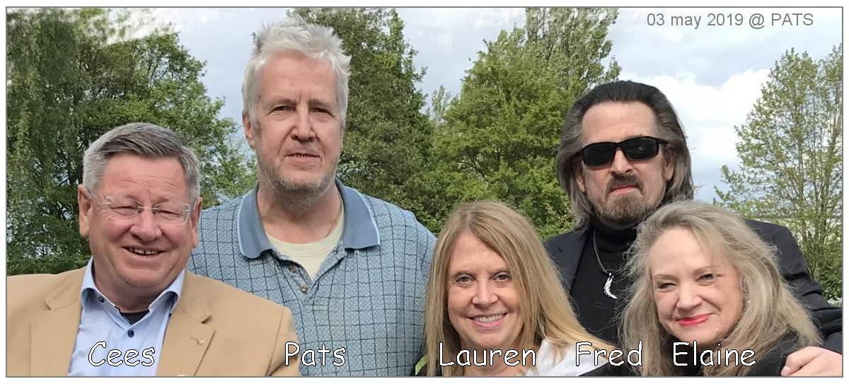 Cees, PATS, Lauren, Frederick and Elaine - 03 May 2019