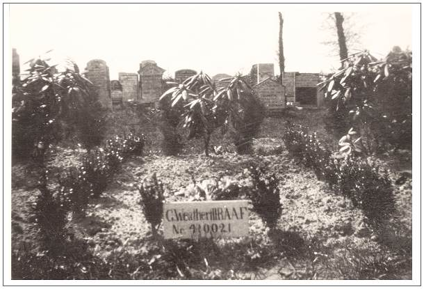 1946 - Vollenhove General Cemetery - grave 627 - Weatherill