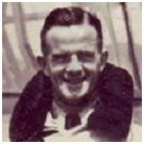 404628 - P/O. - Navigator - William James 'Jim' Farrelly - RAAF - DFM - Age 26 - POW - in Camps 21B/L3, POW No. 81