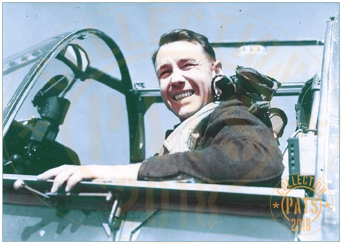 In the cockpit - 32159 - Wing Commander - Pilot - Graeme Eaton Macdonald - RAF