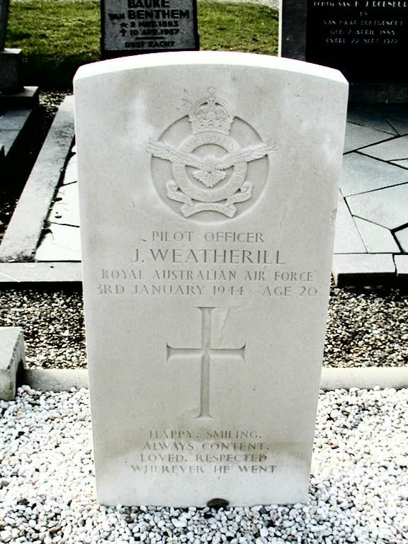 Headstone - Jack Weatherill - Vollenhove