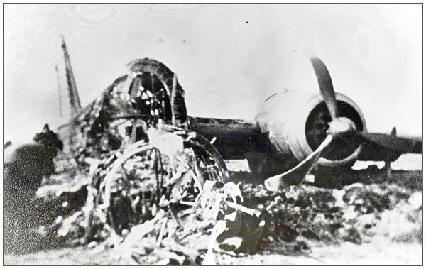 Wellington Mk.Ic - R1281 - WS-? - at crash location