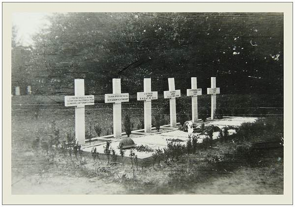 Willemsoord Cemetery - Graves - 1945