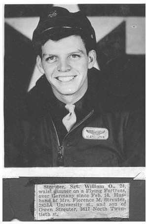 37402761 - S/Sgt. - Engineer / Top Turret Gunner - William Owen Streuter