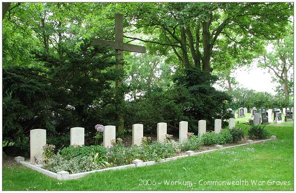 Workum - 9 Commonwealth War Graves - 2006