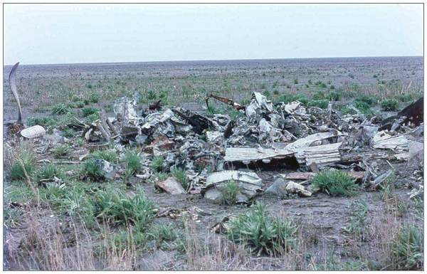 Wreckage of 'Crazy Horse' - abt. 1969